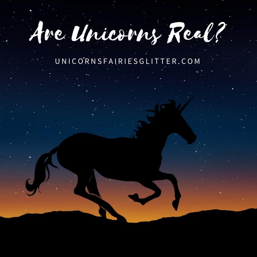 Are Unicorns Real? UnicornsFairiesGlitter.com
