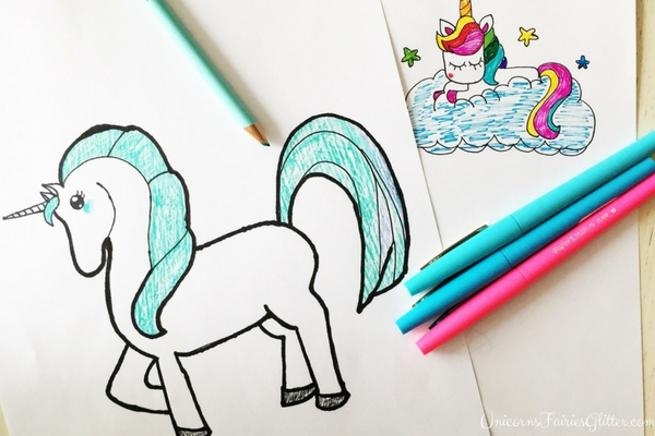 How To Draw A Unicorn Unicorn Drawing Tutorials For Kids Of All Ages