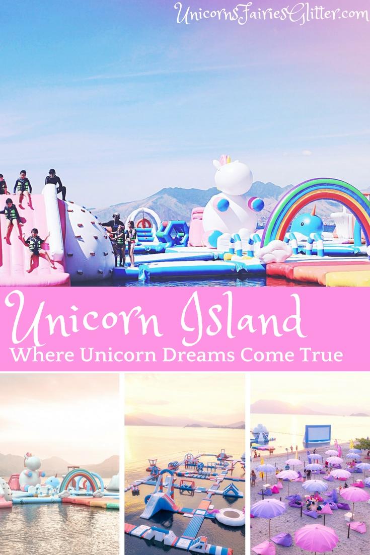 Unicorn Island - Where Unicorn Dreams Come True - UnicornsFairiesGlitter.com