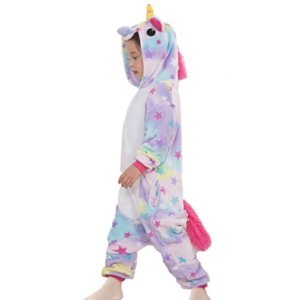 Kids Unicorn Costume with Stars