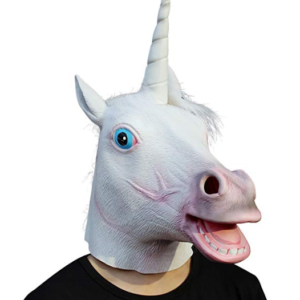 Unicorn Costume Mask for Kids and Adults