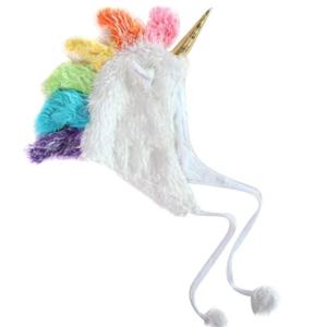 Unicorn Plush Hat
