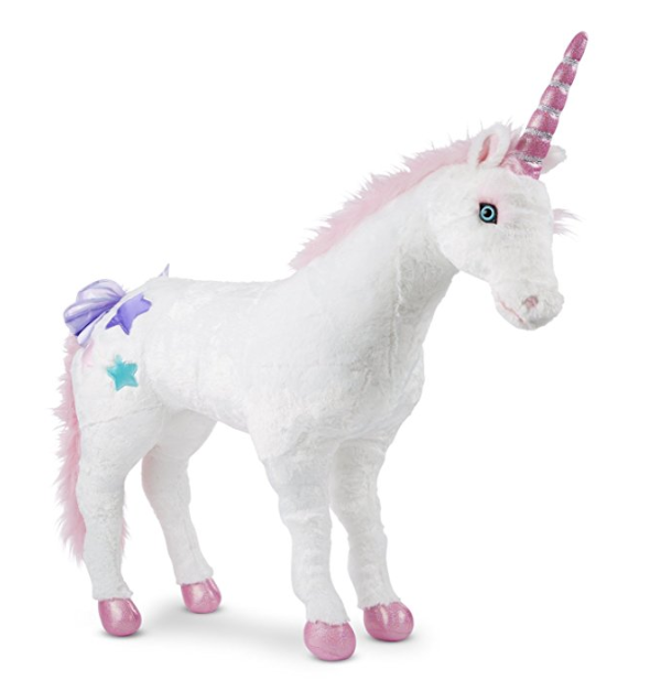 Giant Stuffed Unicorn