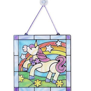 Unicorn Stained Glass Craft Kit